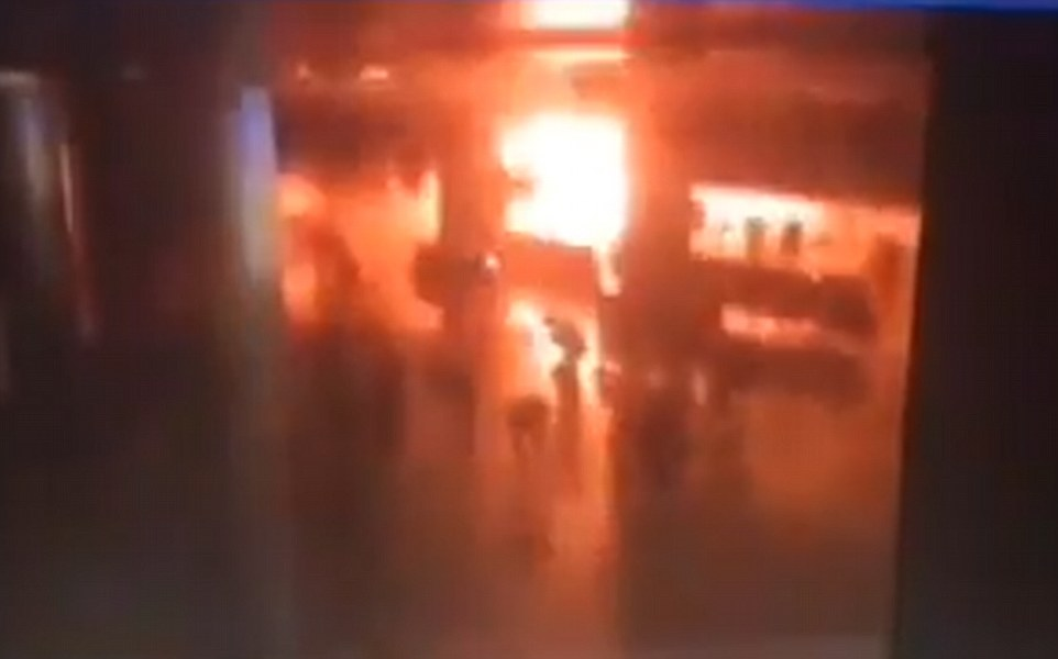 Scenes of horror at Istanbul's Ataturk airport after a series of apparently co-oriodinated bomb attacks.