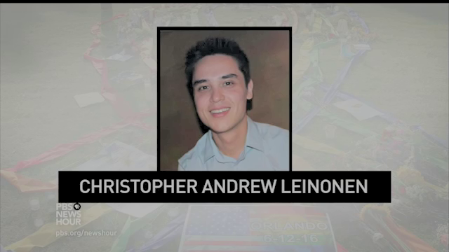 Christopher Andrew Leinonen's mother did not know his full name when asked. But you would not ecpect a parent to recall the name of their child would you?