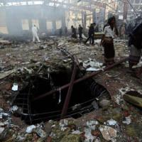 Saudi Warplanes Massacre 140 in Attack on Yemen Funeral.