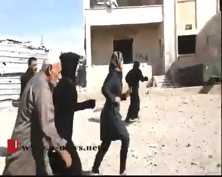 Displaced families returned to what is left of their homes following the Syrian Army victory there in early November following months of desperate close quarters urban combat.